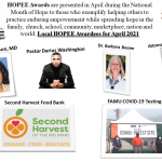 2021 Local HOPEE Awardees