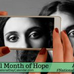 National Month of Hope – April (2)